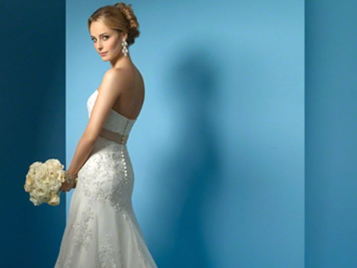 Tmx 1383080207445 Alfred Angelo Dress Style 2020 Bac Parkville wedding dress