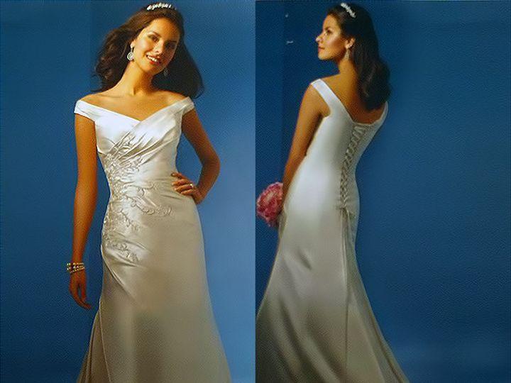 Tmx 1383080230002 Alfred Angelo Dress Style 2032 Fron Parkville wedding dress