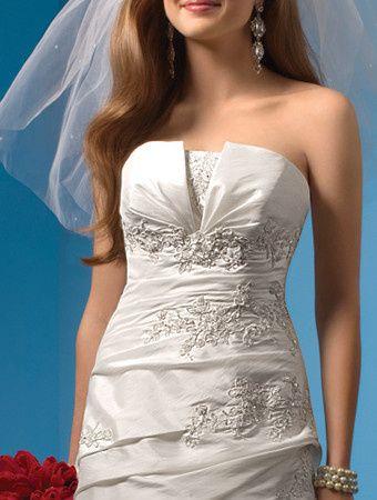Tmx 1383080243786 Alfred Angelo Dress Style 2082 2 Fron Parkville wedding dress