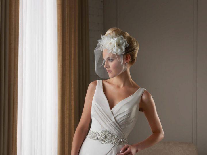 Tmx 1386368346014 Bonnie Bridal Plus Size A Line Gown With Jewel Enc Parkville wedding dress