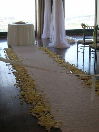 White wedding isle