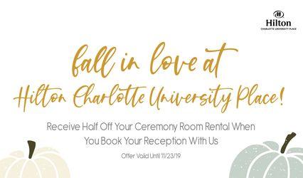 Hilton Charlotte University Place 1