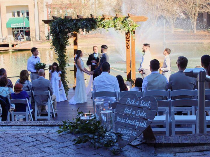 Tmx Dock Ceremony With Guest 51 41781 V1 Charlotte, NC wedding venue