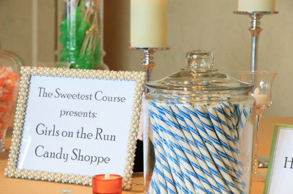 The Sweetest Course table at a local charity gala.