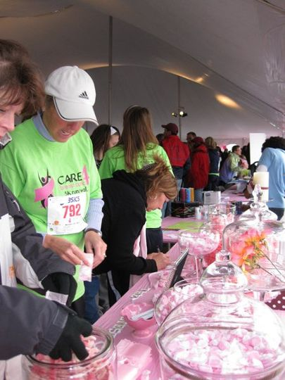 At the Care 4 Breast Cancer Walk.