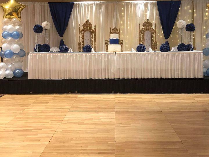 Throne Head table
