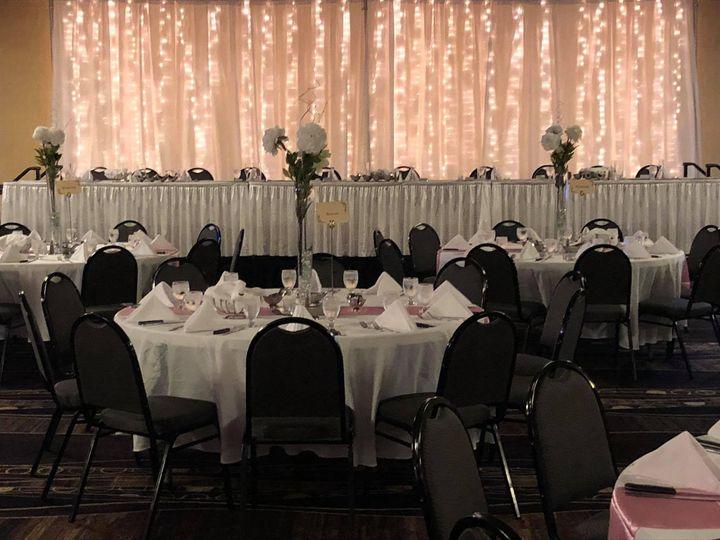 Tmx White Linens Head Table No Chair Covers 51 681781 1569962680 West Des Moines, IA wedding venue