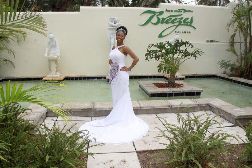 Satisfied bride