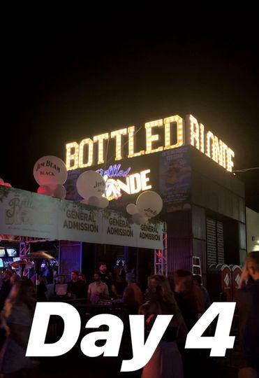 Bottled Blonde Day 4 of TPC