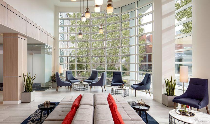 River's Edge Hotel lobby