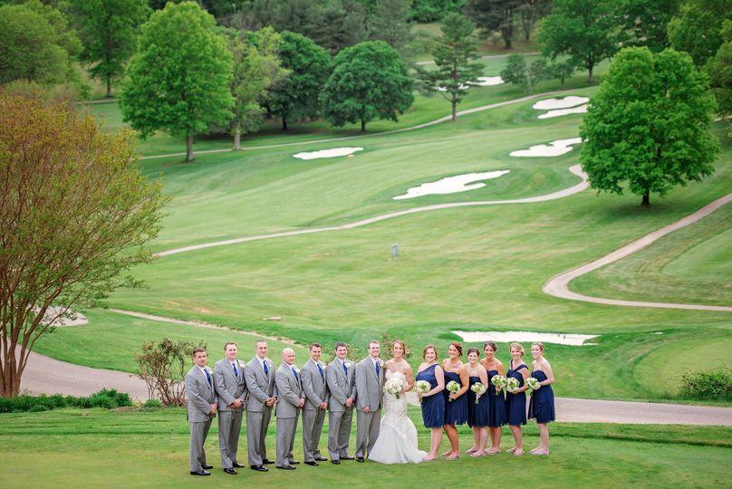 hunts valley golf club wedding maryland 78