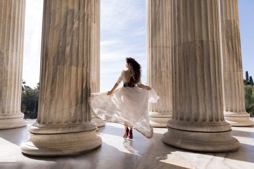 Bridal and columns