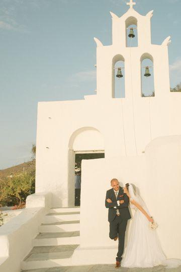 Ios island wedding