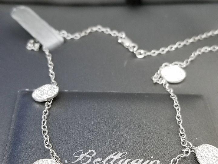 Tmx Dia Necklace 51 1053781 Westwood, NJ wedding jewelry