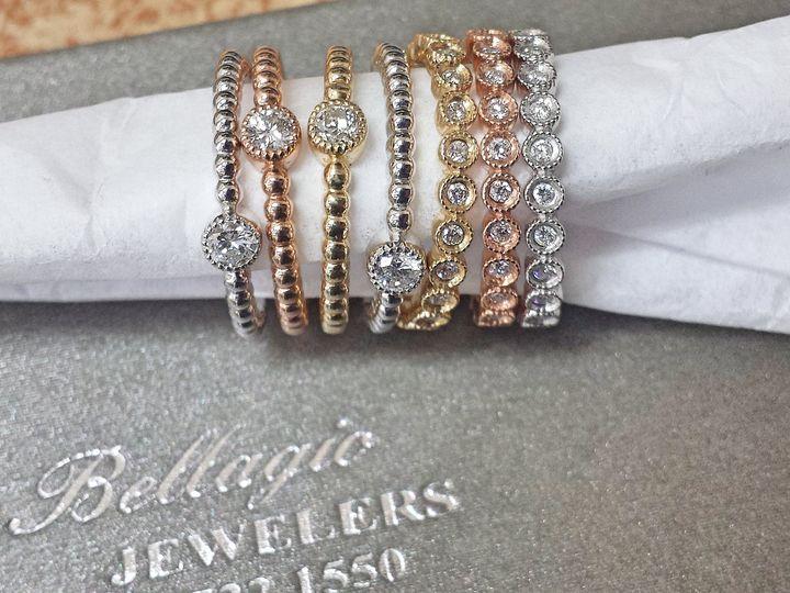Tmx Tricolor Rings 51 1053781 Westwood, NJ wedding jewelry
