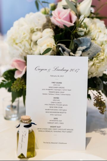 Floral arrangement Photography by: Viera Photographics that links to our website...