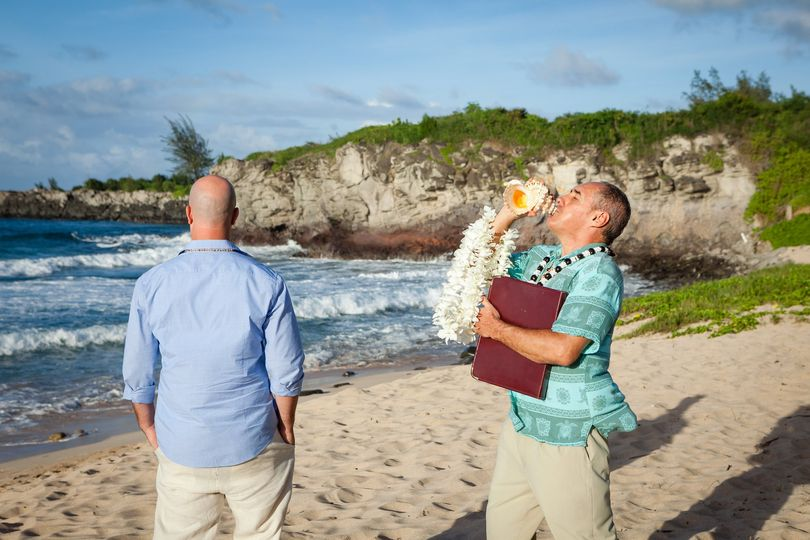 Hawaiian wedding experience