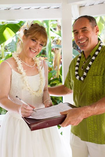Maui Wedding Officiant