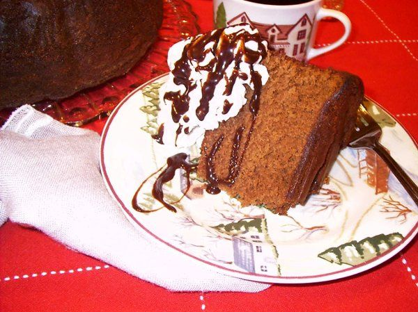 Try Jody's Heavenly Chocolate cake, with a cup of her House Blend Coffee!