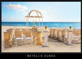 Metallic Dunes Wedding Collection