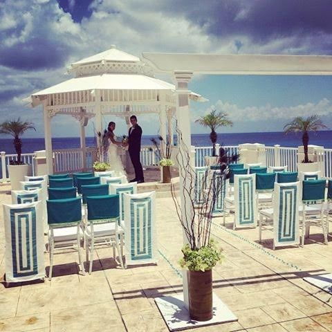 Just one of the many wedding collections available for a destination beach wedding - from elegant to...