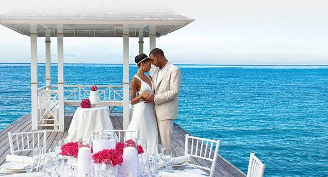 Perfect setting in the Caribbean for a fabulous destination wedding
