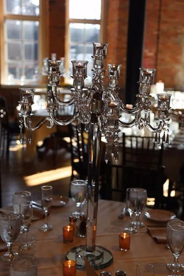 Full Crystal Candelabras