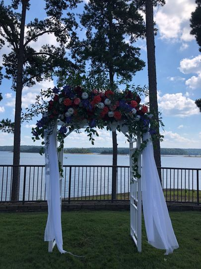 Outdoor Venue at the lake