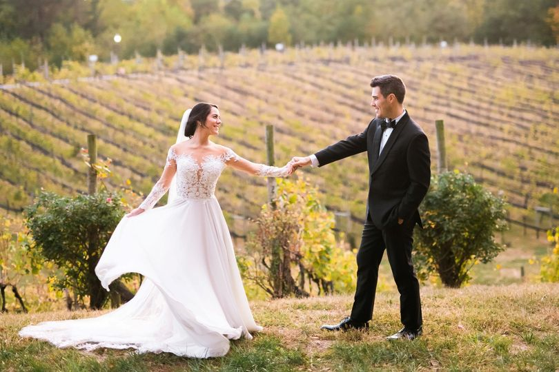 Fall Winery Wedding