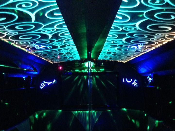 Tmx 1426599251340 Inside Bus Aqua Top Wgreenblue Bottom Austin wedding transportation