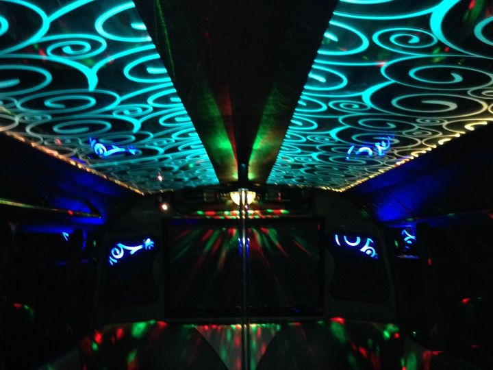 Tmx 1426599271989 Inside Bus Aqua Austin wedding transportation