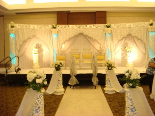 palki mandap decorators lighting decor elkridge md weddingwire. Black Bedroom Furniture Sets. Home Design Ideas