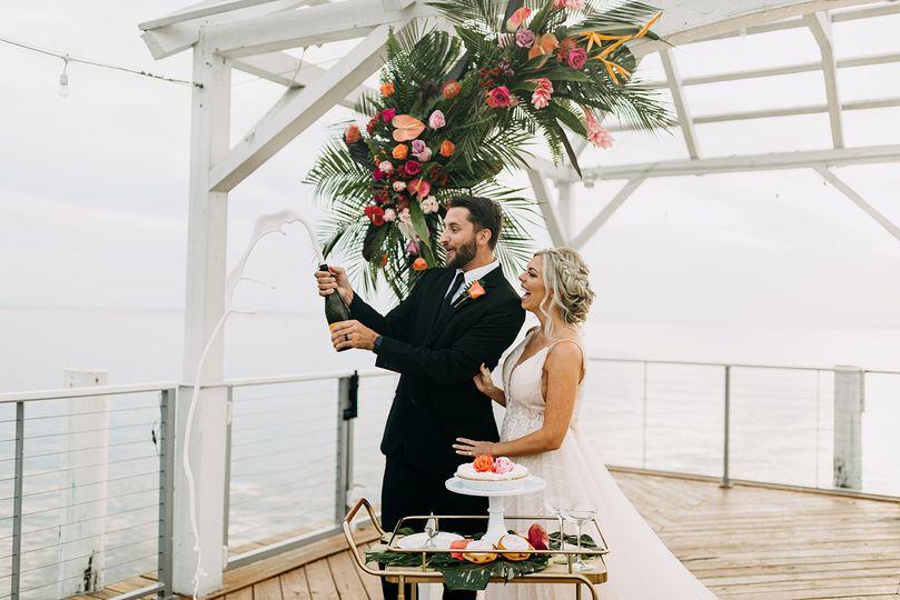 Micro wedding at the Godfrey