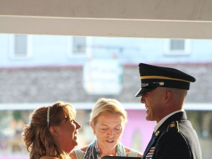 Tmx 1516360067 056f25fd6df72fee 1499974693070 Tracyandmatt33 Toms River, NJ wedding officiant