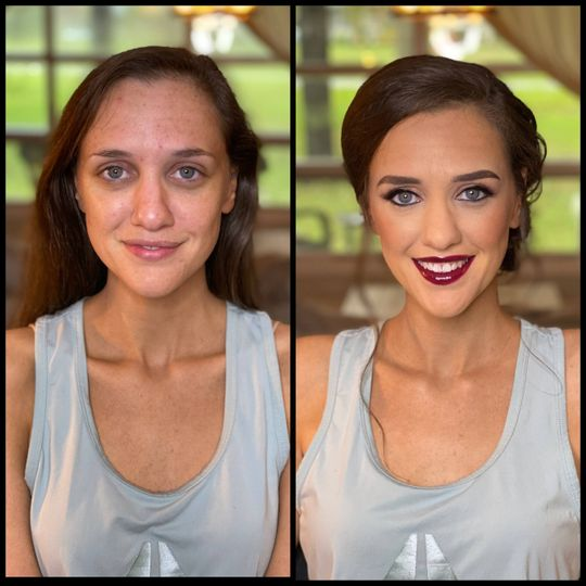 Before & After Bride