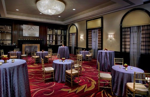 The newly renovated Morgan Room boasts natural lighting and is ideal for a cocktail reception for up...