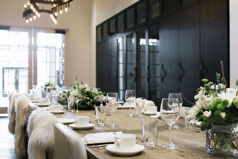 scheper dining room private dinner