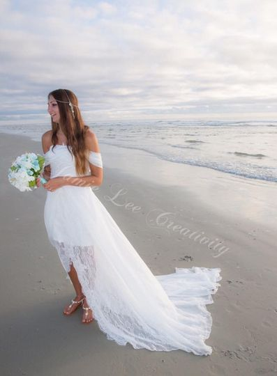 The Faded Sunflower Bohemian Goddess Beach Gown Custom Made to Order $399   © Samantha Alcalde -...