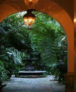 New Orleans Courtyard - a perfect setting for a romantic wedding and/or reception