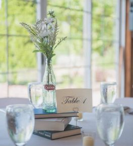 A book lovers wedding