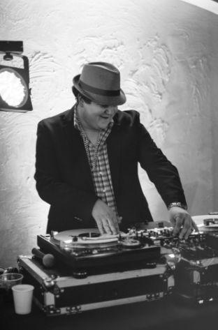 DJ on the mix