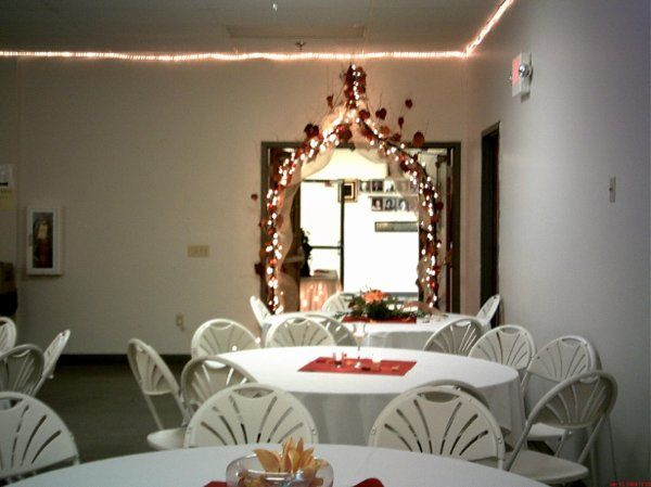Entrance to Lou DeHeve Hall, Springfield Eagles Banquets & Catering