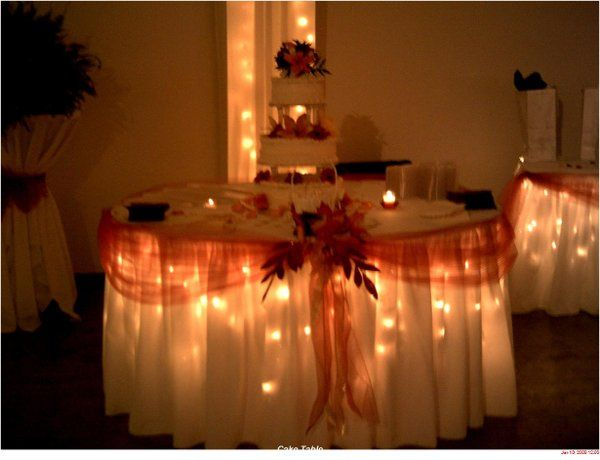 Beautiful Cake Table, Springfield Eagles Banquets & Catering