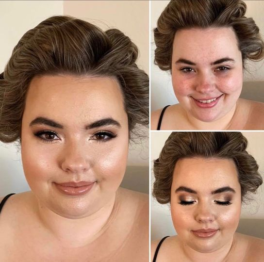 GLOWY WEDDING MAKEUP