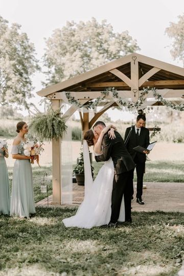 Wooded wedding site