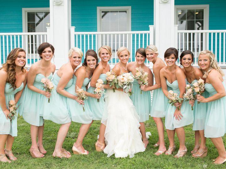 Tmx 1476910545951 Coral Aqua Teal Oyster Farm Eastern Shore Wedding  Ghent, WV wedding beauty
