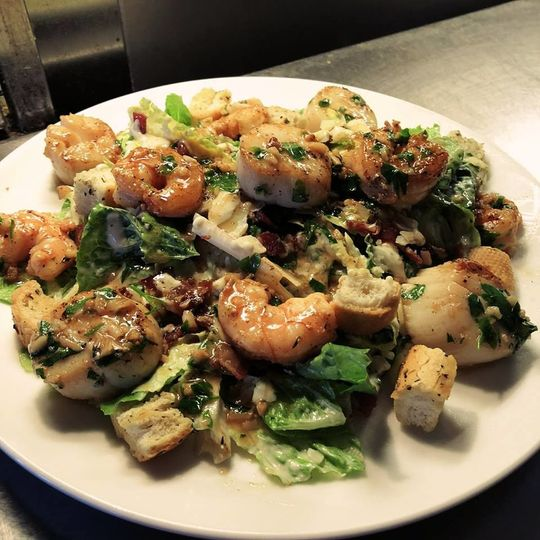 Seafood Salad with Shrimp & Scallops