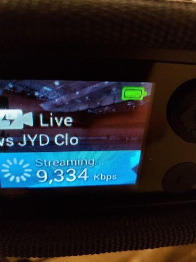 Streaming at 9,334 kpbs!