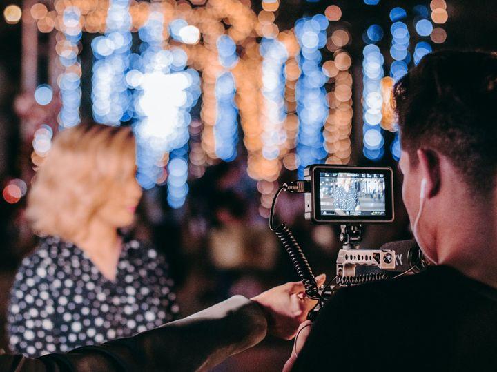 Tmx Videographer Man In Black Sleeve Shirt Holding Camera 3488031 51 1983881 160264814887761 Danbury, CT wedding videography