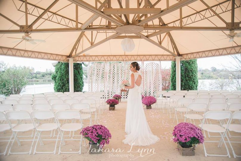 Pavillion wedding
